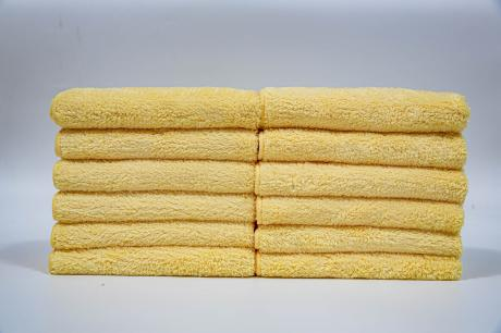 Plush Microfiber Cloth - Ideal for using Car cleaning (12 Pack)